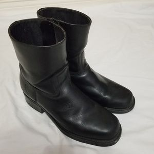 Mens Frye boots Motorcycle Style